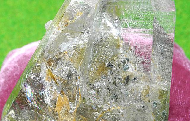 ガーネッシュヒマール水晶